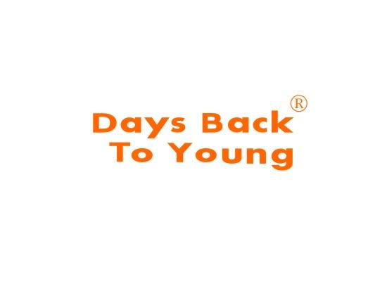 DAYS BACKTO YOUNG