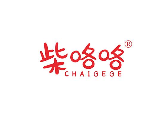 柴咯咯;CHAIGEGE