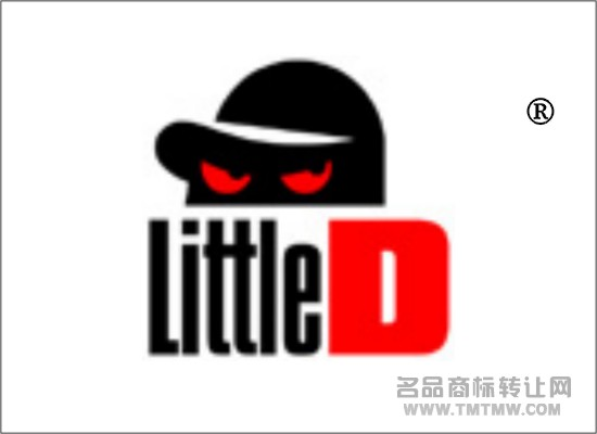 little d商标转让 - 第25类-服装鞋帽 - 中国名品商标图片