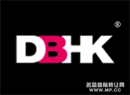 dbhk商标转让 - 第25类-服装鞋帽 - 中国名品商标转让图片