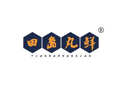 田岛丸鲜,TIANDAOWANXIAN商标